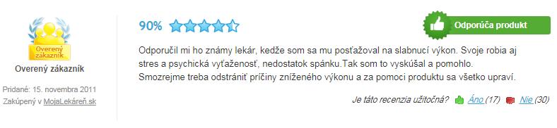 Recenzia ArginMax Forte pre mužov na heureke