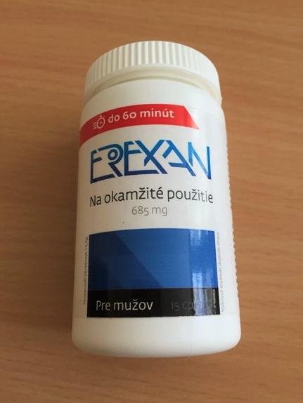 Erexan je výživový doplnok, ktorý skvalitňuje intímny život muža.