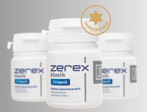 Ak chcete cenu Zerexu ešte viac znížiť, tak si objednajte naraz 3 balenia.