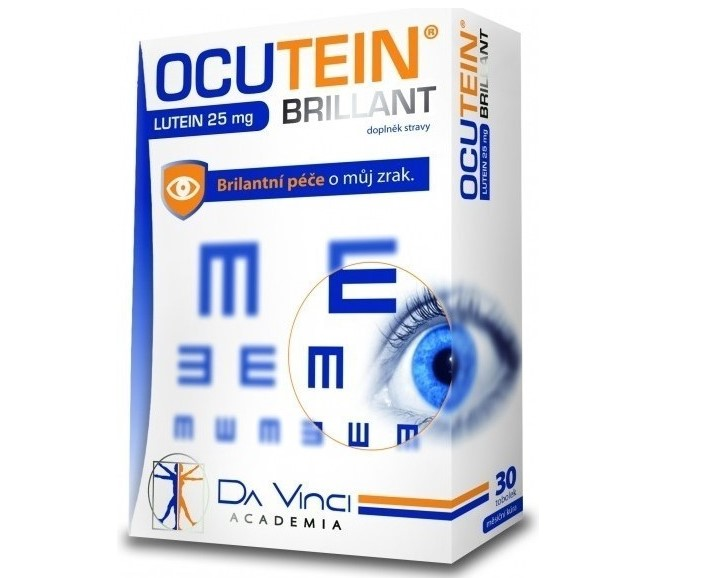 Recenzia Simply You Ocutein Brillant Lutein 25 mg DaVinci
