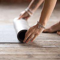 Protišmyková podložka na cvičenie pre deti i dospelých. Skladacia (puzzle) na jogu i pilates