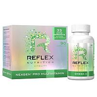 Reflex Nutrition Nexgen Pro 90 kapsúl multivitamíny – recenzia