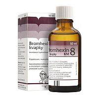 Bromhexin 8 kvapky KM – recenzia, účinky, zloženie, cena, skúsenosti