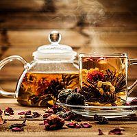 Kvitnúci čaj v darčekovom balení + video