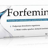 Forfemina – recenzia prípravku na odvodnenie organizmu
