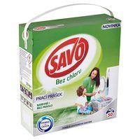 Savo bez chlóru Prášok na pranie na farebné aj biele 3,5 kg (50 praní)