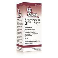 Bromhexin 8 kvapky KM
