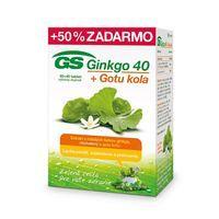 GS Ginkgo 40 + Gotu kola 120 tabliet