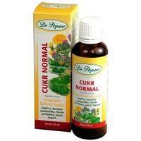 Dr. Popov Kvapky bylinné Cukor normal 50 ml