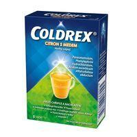 Coldrex horúci nápoj med a citrón