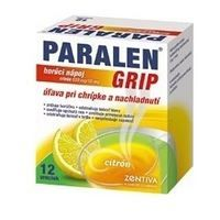 Paralen Grip horúci nápoj citrón 650mg