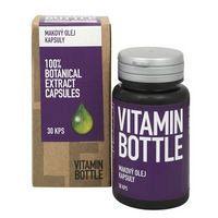 Makový olej Vitamin Bottle, 30 kapsúl