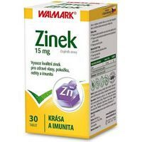 Walmark Zinok 15 mg 30 tabliet