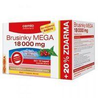Cemio Brusnice Mega 18000 mg 60 tabliet