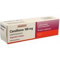 Candibene vaginálne tablety 100 mg