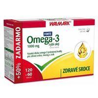 Walmark Omega-3 rybí olej Forte 1000 mg, 180 tbl.