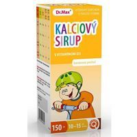 Dr.Max Kalciový sirup s vitamínom D3
