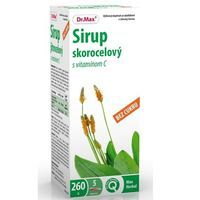 Dr. Max Sirup skorocelový s vitamínom C bez cukru
