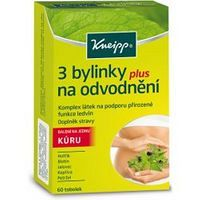 Kneipp 3 bylinky na odvodnenie 60 tabliet