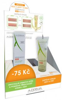 A-DERMA promo Barketa Epitheliale AH massage 3ks + AH DUO 3ks