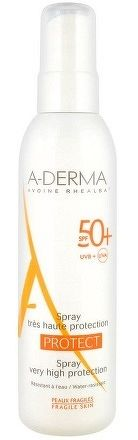 A-DERMA PROTECT SPRAY SPF50+ sprej 1x200 ml