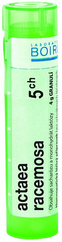 Actaea Racemosa CH5 granule 4g