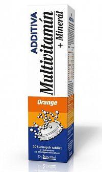 ADDITIVA MULTIVITAMÍN + Minerál, Orange tbl eff 20 ks