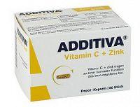 ADDITIVA Vitamín C+ zinok 60 kapsúl