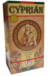 AGROKARPATY CYPRIÁN CYPRIÁN bylinný čaj čistý prírodný produkt 20x2 g