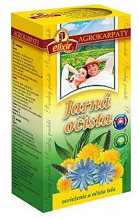 AGROKARPATY Jarná očista bylinný čaj čistý prírodný produkt 20x2g