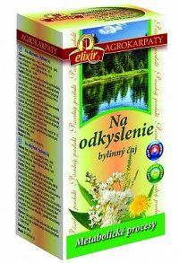 AGROKARPATY Na odkyslenie bylinný čaj prírodný produkt 2x20 g