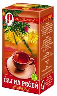 AGROKARPATY PEČEŇ a žlčník bylinný čaj čistý prírodný produkt 20x2g