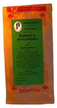 AGROKARPATY ŽIHĽAVA DVOJDOMÁ vňať bylinný čaj 50g