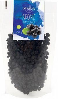 Allnature Arónia čierna jarabina BIO 250 g