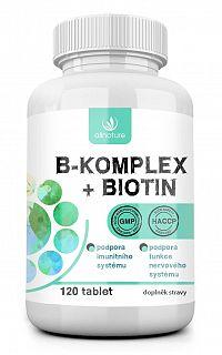 Allnature B-komplex + Biotin 120 tabliet