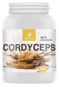 Allnature Cordyceps 100 kapslí