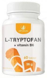 Allnature L-tryptofan 60tbl 200mg/2,5mg vit B6