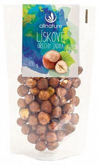 Allnature Lískové ořechy jádra 100 g