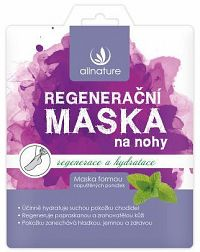 Allnature Maska regenerační na nohy 32 ml (1 pár)