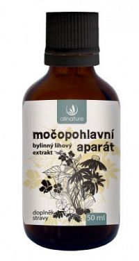 Allnature Močovopohlavný aparát bylinný liehový extrakt 50ml
