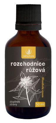Allnature Rozchodnica - Rhodiola rosea bylinné kvapky 50ml