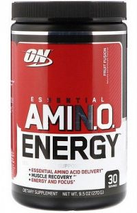 Aminokyseliny Amino Energy 270 g - Optimum Nutrition peach cranberry