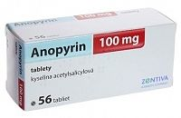 ANOPYRIN 100mg 56 tabliet