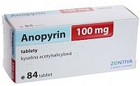 ANOPYRIN 100mg 84 tabliet