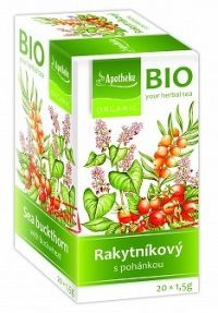 Apotheke Bio Selection Pohánkový čaj s rakytníkom 20x1,5g