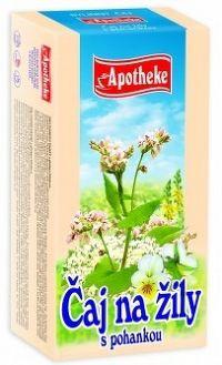 Apotheke Bylinný čaj na žily s pohánkou 20x1,5g