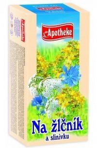Apotheke Bylinný čaj na žlčník a slinivku 20x1,5g