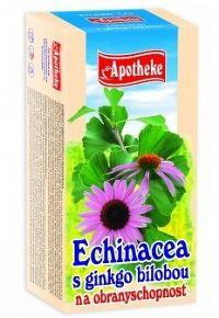 Apotheke Čaj echinacea s ginkgom 20x1,5g