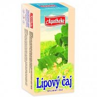 Apotheke Lipový bylinný čaj 20x1,5g