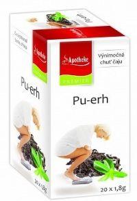 Apotheke Premier Selection čaj Pu-erh 20x1,8g